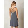Prana W's Rebecca Dress Black Pinstripe